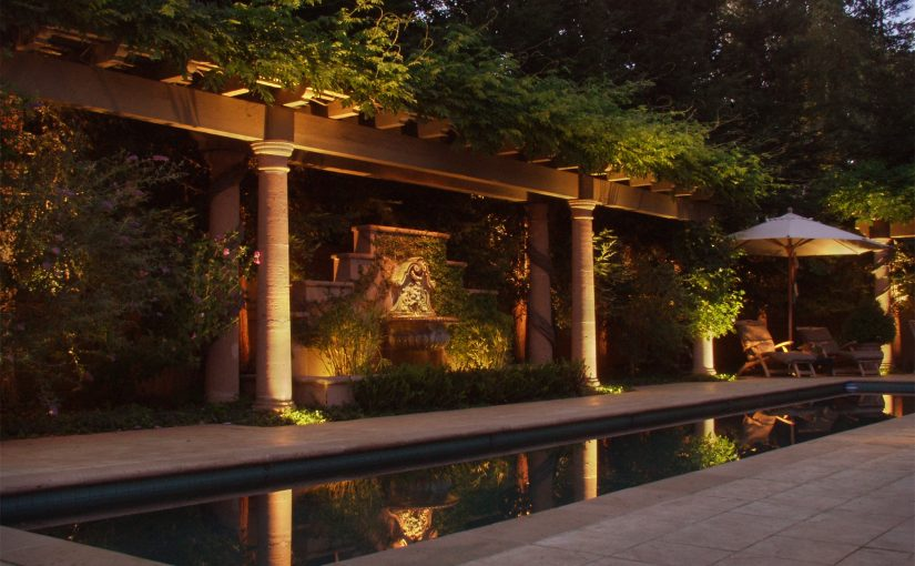 Project 17 – Tranquil Arbor Backdrop Reflective Pool