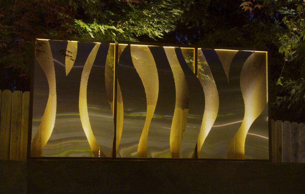 Project 14 – Decorative Garden Screen Illumination